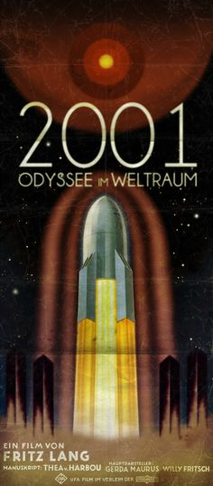 Movies reimagined for another time & place: 2001: A Space Odyssey. By Peter Stults.
