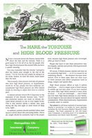 Met Life Insurance Artist Keith Ward 1953 Ad Picture
