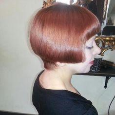 Vintage hair styled at Urban Angels!