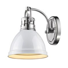 FREE SHIPPING. Purchase the Duncan Bath Light with Color Shade by Golden…