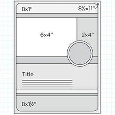 Scrapbook Page Sketch 385