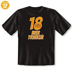 Fun T-Shirt - Geschenk zum 18. Geburtstag - 18 Jahre Bier Trinker - Lustige Geschenkidee (*Partner-Link)