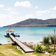 Lake Petén Itzá, Peten, Guatemala
