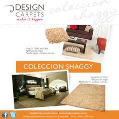 Conoce nuestra Coleccion Shaggy - Alfombras de pelo alto en pura lana - en www.designcarpets.com.ar