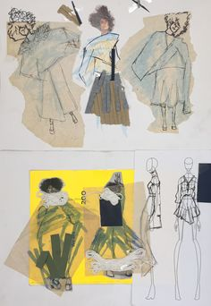Designs by Ana, Access to Fashion 4 weeks Deformation introduction project