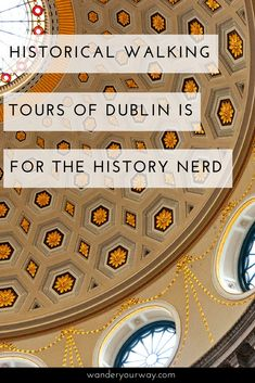 On my trip to Dublin I finally took a walking tour. But not just any walking tour. I chose to dig into the history of this fascinating city and country. All I can say is get ready to get your history nerd on! Click through to find out more. Glasgow, Edinburgh, Ireland Vacation, Ireland Travel, Dublin, Cool Places To Visit, Places To Go, Moving To Ireland, Stay In A Castle
