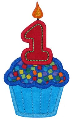 Cupcake 1 Applique GG Designs - great baby sayings ideas from this site Baby Applique, Applique Patterns, Applique Designs, Embroidery Designs, Cute Embroidery, Embroidery Fonts, Machine Embroidery, Sewing Crafts, Sewing Projects