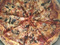 Pepperoni, Vegetable Pizza, Vegetables, Food, Veggies, Vegetable Recipes, Meals, Yemek, Veggie Pizza