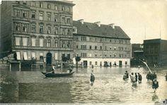 Powódż 1903. Hintze & Wehske Cigarren-Fabrik. Homeland, Louvre, Germany, Building, Places, Photographs, Travel, City, Viajes
