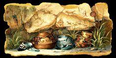 Four Pots by James Lee Southwestern Tile, Southwest Art, James Lee, Tile Murals, Pottery Painting, Dreamcatchers, Clay Pots, Western Art, Native American Art