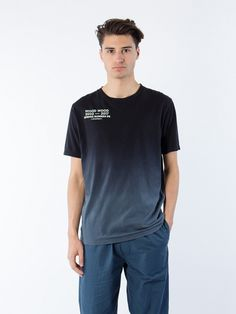 Wood Wood  Sami T-Shirt Black