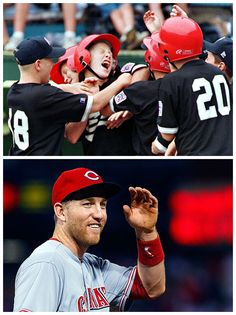 Did you know that Todd Frazier was a member of the 1998 Toms River, NJ Little League World Series winning baseball team? Along with being the winning pitcher, Frazier went 4-4 with a HR in the game.