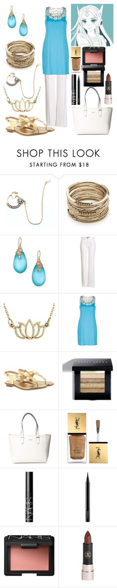 """""""Symmetra"""" by fairytale-reality ❤ liked on Polyvore featuring Child Of Wild, Sole Society, Alexis Bittar, Roberto Cavalli, Ojai Clothing, MICHAEL Michael Kors, Bobbi Brown Cosmetics, GUESS, Yves Saint Laurent and NARS Cosmetics"""