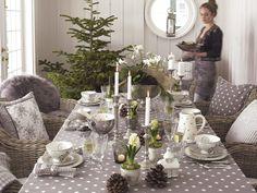 Mesas de Navidad con mucho estilo