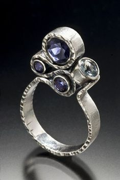 ring By Sara Westermark. I think this ones my favourite of hers. #beautifulrings