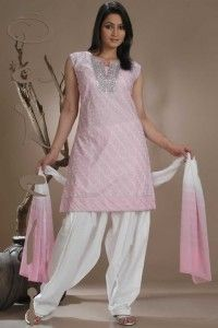 Light Pink Salwar Kameez Fashion