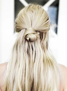 7+Monday+Morning+Hairstyles+That+You+Can+Do+in+Under+5+Minutes+via+@ByrdieBeautyUK