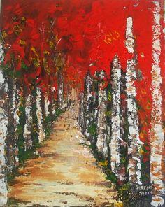Caminho vermelho