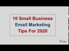 10 Small Business Email Marketing Tips For 2020 - Want to know how to launch an email marketing strategy for your business? Email Marketing Strategy, Marketing Training, Business Emails, Chandigarh, Digital Marketing, How To Get, Tips, Counseling