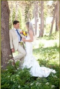 Rustic Mountain wedding Located in the Village Lodge at Sugar Bowl Resort California Jenn Bartell Photography and Design