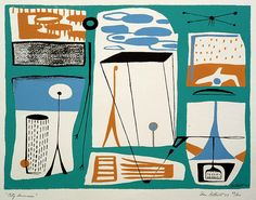 MID-CENTURIA : Art, Design and Decor from the Mid-Century and beyond: Abstract Art