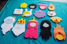 Hey, I found this really awesome Etsy listing at https://www.etsy.com/listing/116050766/the-epic-adventure-time-felt-set