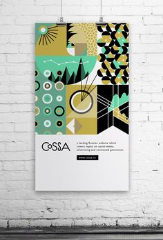 30 Flat Poster Design for Your Inspiration