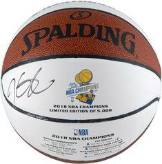 d56e8cbfa Kevin Durant Warriors Signed 2018 Finals Champs White Panel Basketball -  Panini  sportsmemorabilia  autograph