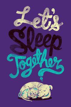 Durmamos juntos, por Dzeri29