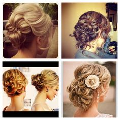 Gorgeous hairstyles for prom!