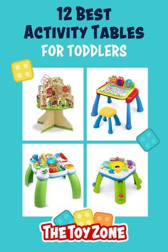We have compiled a list of the 12 best toddler activity tables that came highly recommended by parents and showed no review manipulation. It is important for us to ensure that each activity table on this list is one of the best and promotes learning and helps them with various developmental skills. Each of these tables is designed for both boys and girls of toddler age and they are all made from high-quality, non-toxic materials for safety. Best Toddler Toys, Toddler Age, Best Kids Toys, Table Activities For Toddlers, Learning Activities, Activity Tables, Toy Trees, Cool Toys For Boys, Best Educational Toys