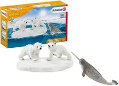Schleich Isbjørnenes Lekeplass - 4 deler 42531 Wild Life, Personal Care, Products, Plaice, Games, Water, Self Care, Personal Hygiene, Wildlife Nature