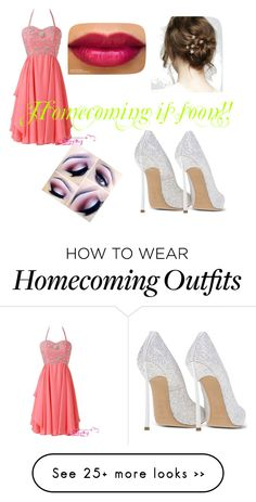 """""""Homecoming is soon"""" by sadsmith on Polyvore featuring Casadei"""