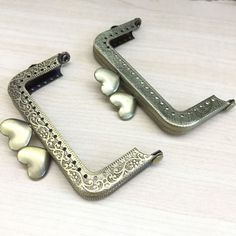 Metal Coin Square Purse Frames - Sewing holes. 100% New. Size : 8 cm. | eBay!