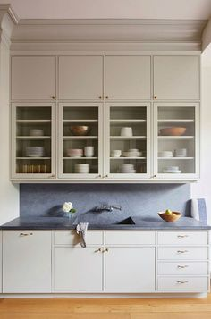 kitchen with soapstone countertop