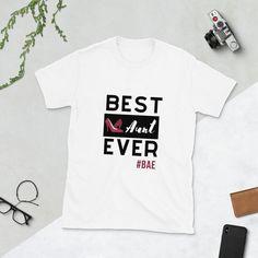 Tee Shirt Designs, Tee Design, Graphic Design, Aunt T Shirts, Tee Shirts, Best Aunt, Aunt Gifts, Mama Shirt, Graphic Shirts