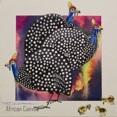 guinea fowl painting - Bing Images
