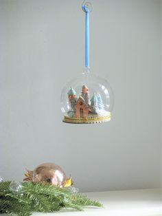 Love my Anthropologie for Christmas! Christmas Home, Christmas Ideas, Christmas Bulbs, Snow Globes, Anthropologie, My Love, Holiday Decor, Home Decor, Flowers