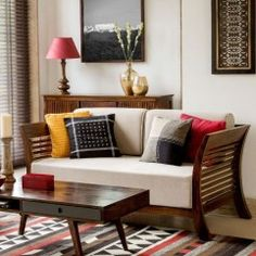 Lately, ethnic home decor has turned out to be progressively mainstream when settling on a subject for decorating. Among the first of the decisions in social decor, is Indian home decor. Indian home decor has turned out to be a… Continue Reading → Living Room Sofa, Living Room Interior, Living Room Decor, Apartment Living, Rustic Apartment, Apartment Ideas, Bedroom Couch, Decor Room, Room Decorations
