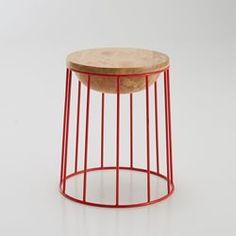 """Le tabouret """"belly stool"""" de Dan Yeffet pour BENSIMON."""