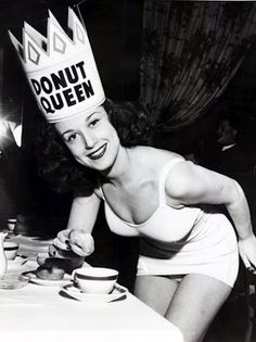 Donut Queen ...not a bad gig!