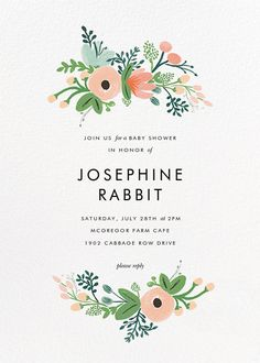 Wrapped in Wildflowers (Invitation) - Paperless Post