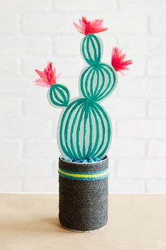 A Lush DIY: Wooden Succulents - Think.Make.Share.