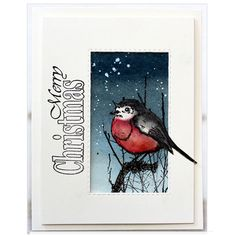 Penny Black Winter Joy Stamp Set - The Foiled Fox