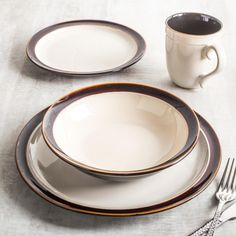 With Cuisinart® Dinnerware, Cuisinart brings its distinguished reputation for quality and design leadership to the dining room. Cuisinart offers a variety of beautiful patterns. Each piece is designed and crafted of the finest quality materials.