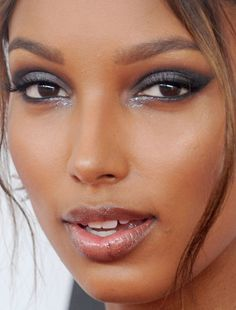 Jasmine Tookes model red carpet makeup celeb celebrity celebritycloseup