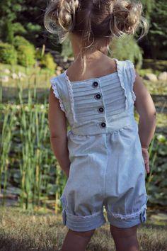 "Girl Romper/Dress PDF Pattern - The ""Hope"" Sewing Pattern"