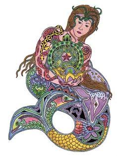 Mermaid - Sue Coccina