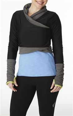 Merino wool reversible half jacket with thumb holes from Moxie Cycling. Cycling specific qualities & casual capable. Going on the wish list.