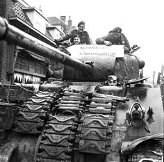 Canadian Grenadier Guards (Sherman Firefly of The Canadian Grenadier Guards, Almelo, Netherlands, 5 April 1945) Read more: http://histomil.com/viewtopic.php?f=338&t=3918&start=1240#ixzz3SXNE2qn3